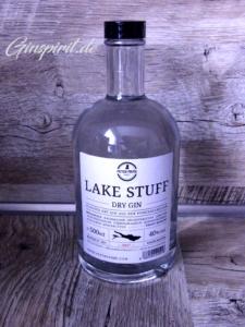 Lake Stuff Dry Gin Flasche