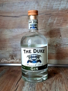 The Duke Munich Dry Gin Flasche