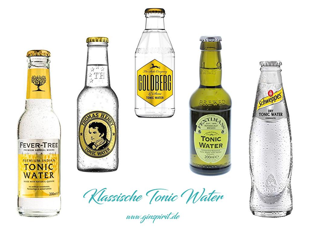 Klassische Tonic Water