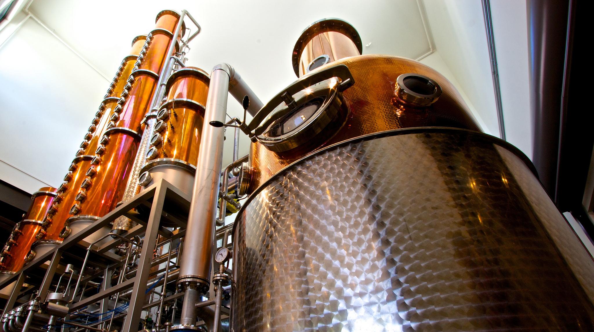 Dry Gin Herstellung