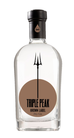 Triple Peak Brown Label Gin